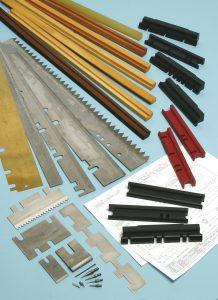 Cheeks Pressure Bars & Pins