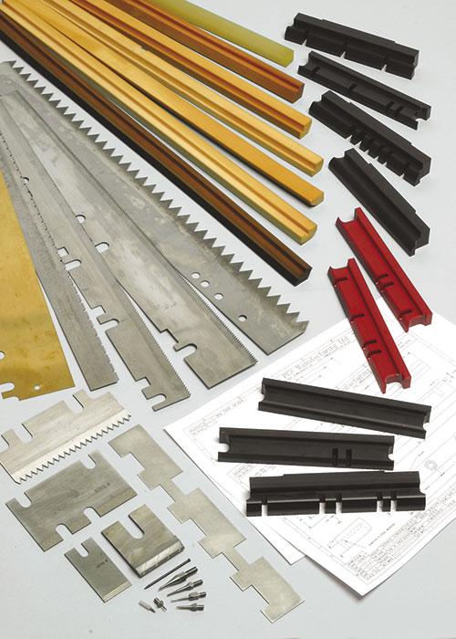 Knife Cheek, Knife Pressure Bars, Pins for web folders